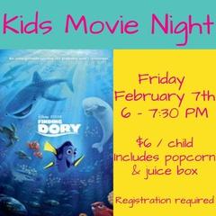 Kids Movie Night: Finding Dory