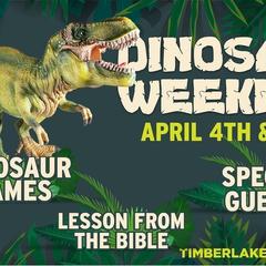 Dinosaur Weekend