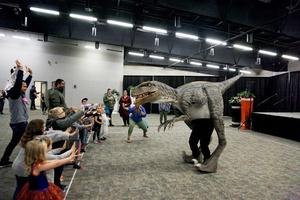 Dino Training at the Saskatoon Family Expo