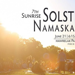 7th Sunrise Solstice Namaskar