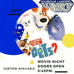 Secret Life of Pets 2 movie night