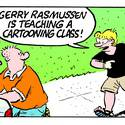 Cartooning Camp with Gerry Rasmussen