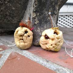 Family Crafts - Apples and Pumpkins!