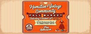Hamilton Vintage Community Fall Market