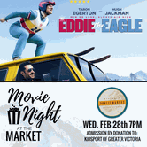 Movie Night at the Market: Eddie the Eagle
