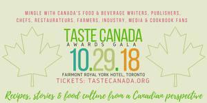2018 Taste Canada Awards Gala