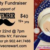 Movember Paint Party Nite Fundraiser