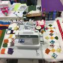 Quilting at the Barn