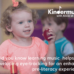 A musical playdate for kids 0-3 years