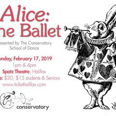 Alice The Ballet - with pre show Ballet craft for kids