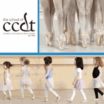The School of Canadian Contemporary Dance Theatre's promotion image