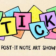 STICKY: A post-it note art show