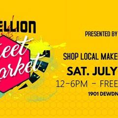Rebellion Street Market by Handmade Sask