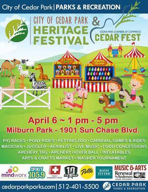 Cedar Park Heritage Festival - Cedar Fest