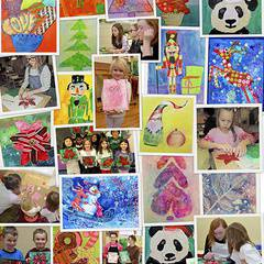 Christmas art workshop for children and youth 6-18 yrs.