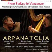 Arpanatolia - Contemporary Synthesis of Turkish Folk Music