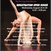 Dance Theatre Performing Arts Centre Registration Open House