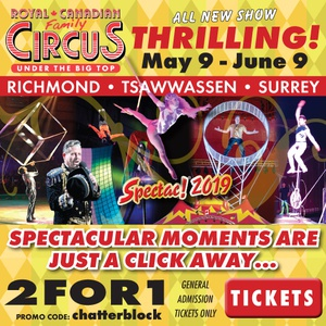 Royal Canadian family Circus Spectac!® 2019