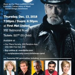 CBC & Our Place Society present 'A Christmas Carol'