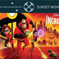 Sunset Movie Series-Incredibles 2