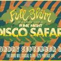 Full Blüm Funk Night: Disco Safari