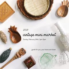 Annual Vintage Mini Market