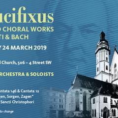 Crucifixus: Sacred Choral Works by Lotti & Bach