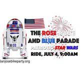 Rose, White & Blue Parade