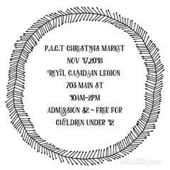 PACT Christmas Craft Fair & Market