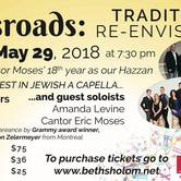 CROSSROADS: Tradition Re-envisioned - The Best in Jewish A Cappella