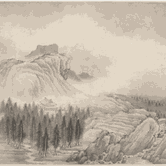 Gallery + Studio: Ink-Brush Landscapes