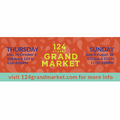 Sundays at the 124 Grand Market