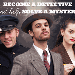 Case at the Edge of the Woods - An interactive theatrical Murder Mystery Tour