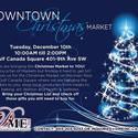 Christmas Market - Gulf Canada Square