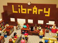 LEGO at the Library