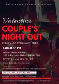 Valentine Couple's Night Out