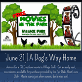 Movies in the Park | A Dog's Way Home