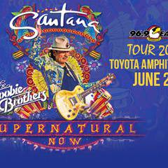 96.9 The Presents: Santana with The Doobie Brothers