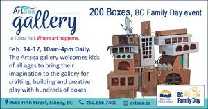 200 Boxes, BC Family Day event