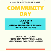 CHANGE Adventure Camp Community Day