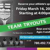 Come and Tryout for one of our TEAM programs.