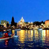 Canada Day Inner Harbour Sunset Fireworks Paddleboard Tour