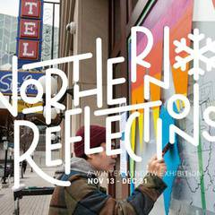 Northern Reflections Window Exhibition
