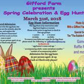 Spring Celebration and Egg Hunt