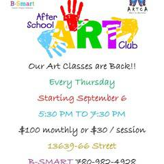 Thursday After School Art Club