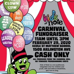 2nd Annual Kids of Note Carnival