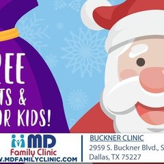 Free Santa Event at MD Family Clinic in Pleasant Grove