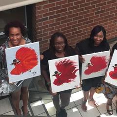 Wakanda Paint Party #2