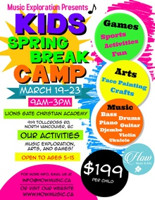 Kids Spring Break Camp