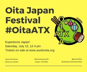 Oita Japan Festival #OitaATX